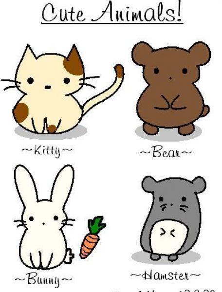 47+ Cute Anime Animals Wallpaper on WallpaperSafari