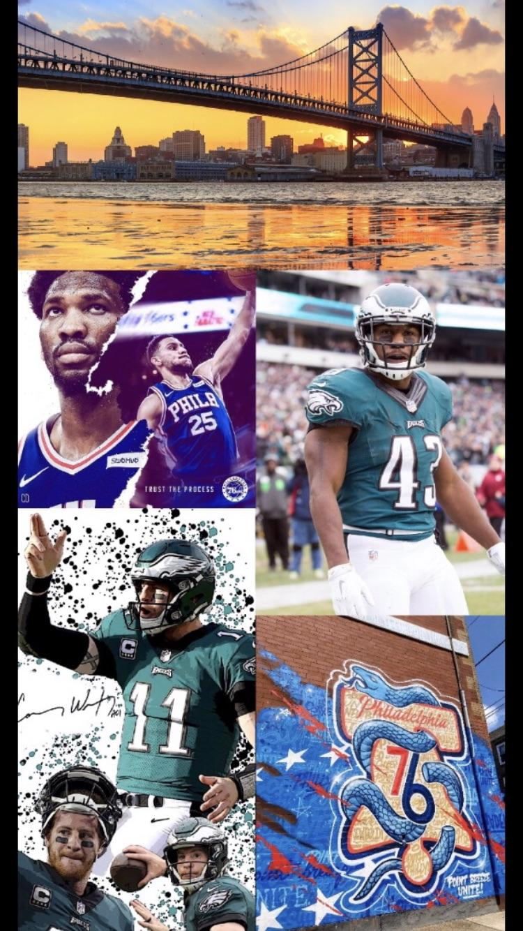 Ay Philly sports fans how do you like this wallpaper eagles 750x1334