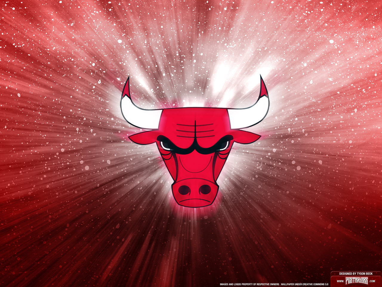 Chicago Bulls Logo Wallpaper Posterizes NBA Wallpapers 1280x960