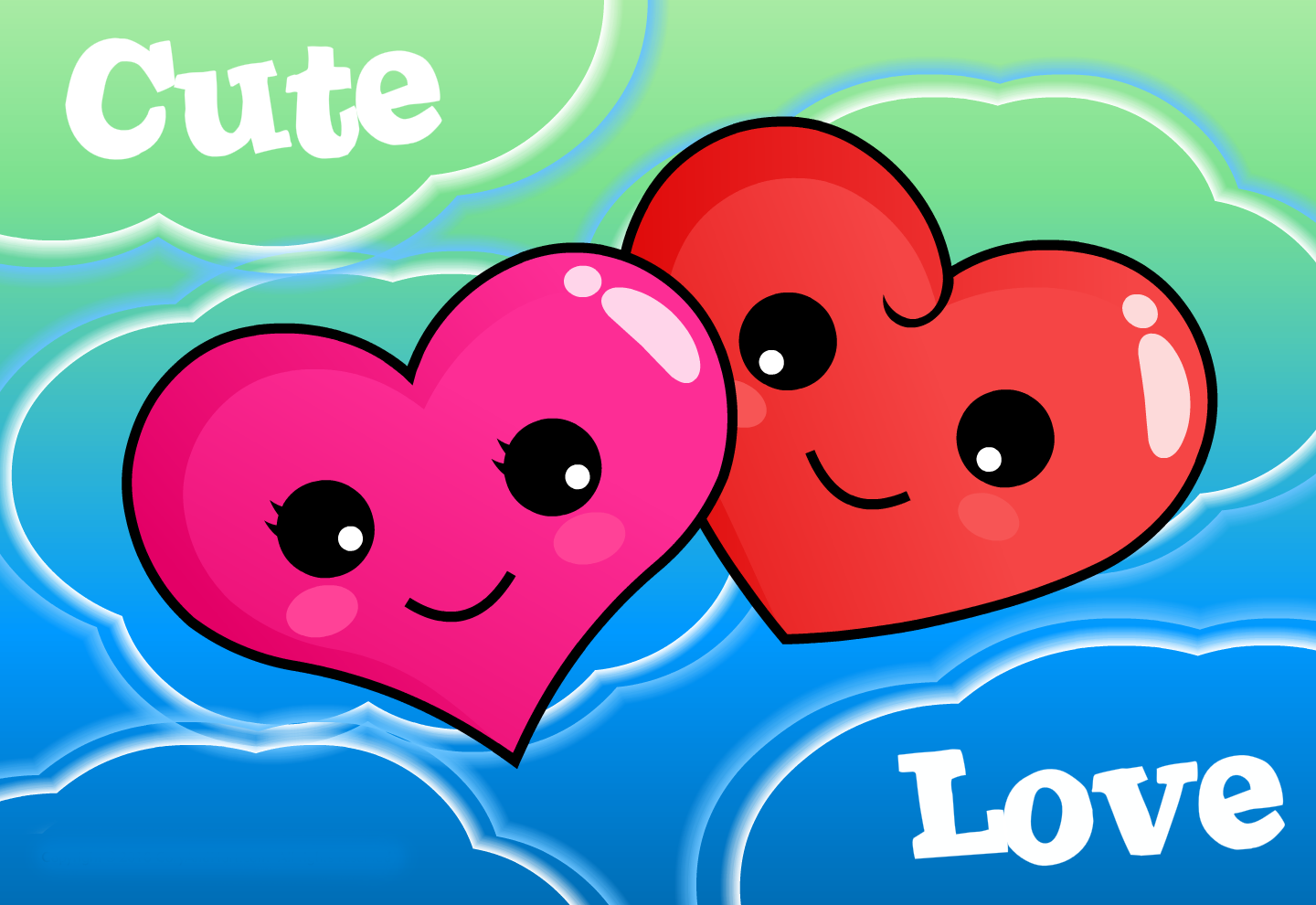 Cute Love Desktop Wallpapers 1440x990
