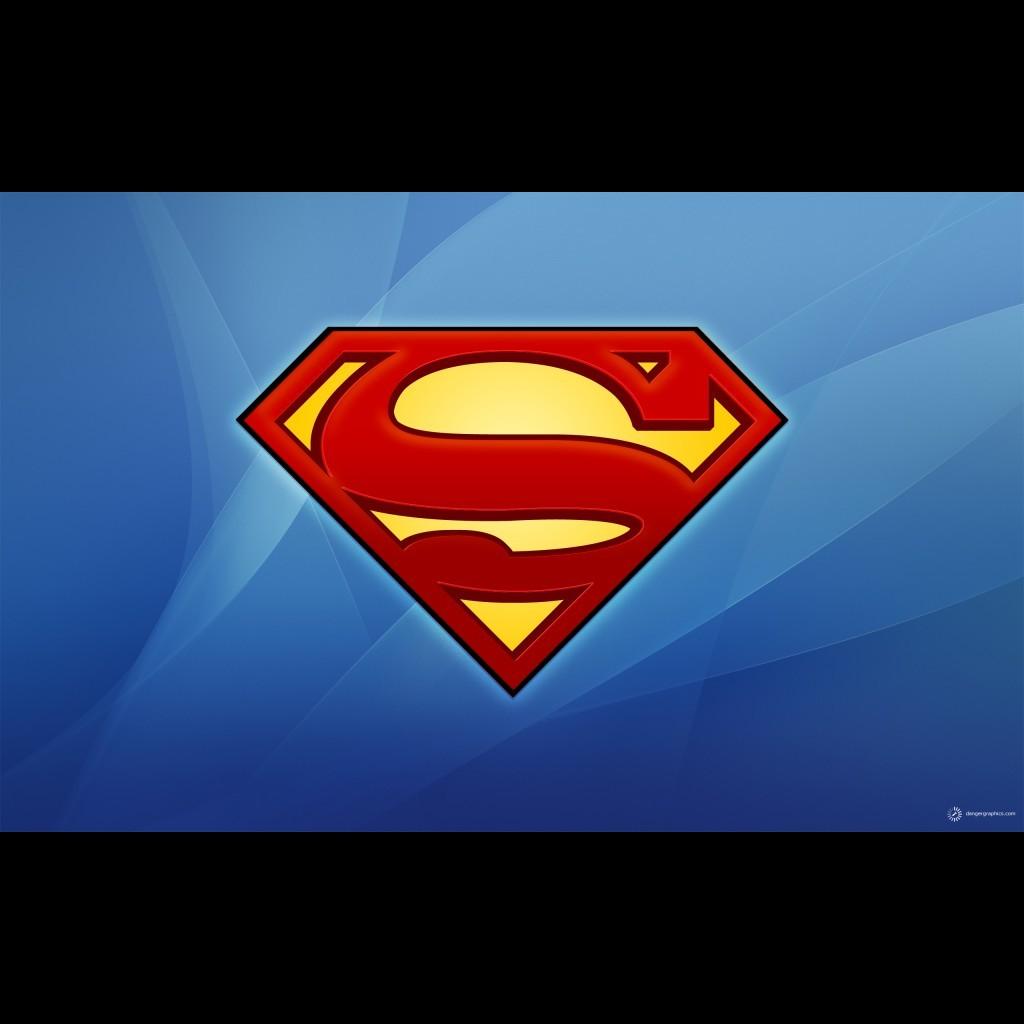 Superman Logo Wallpaper For Mobile 1024x1024