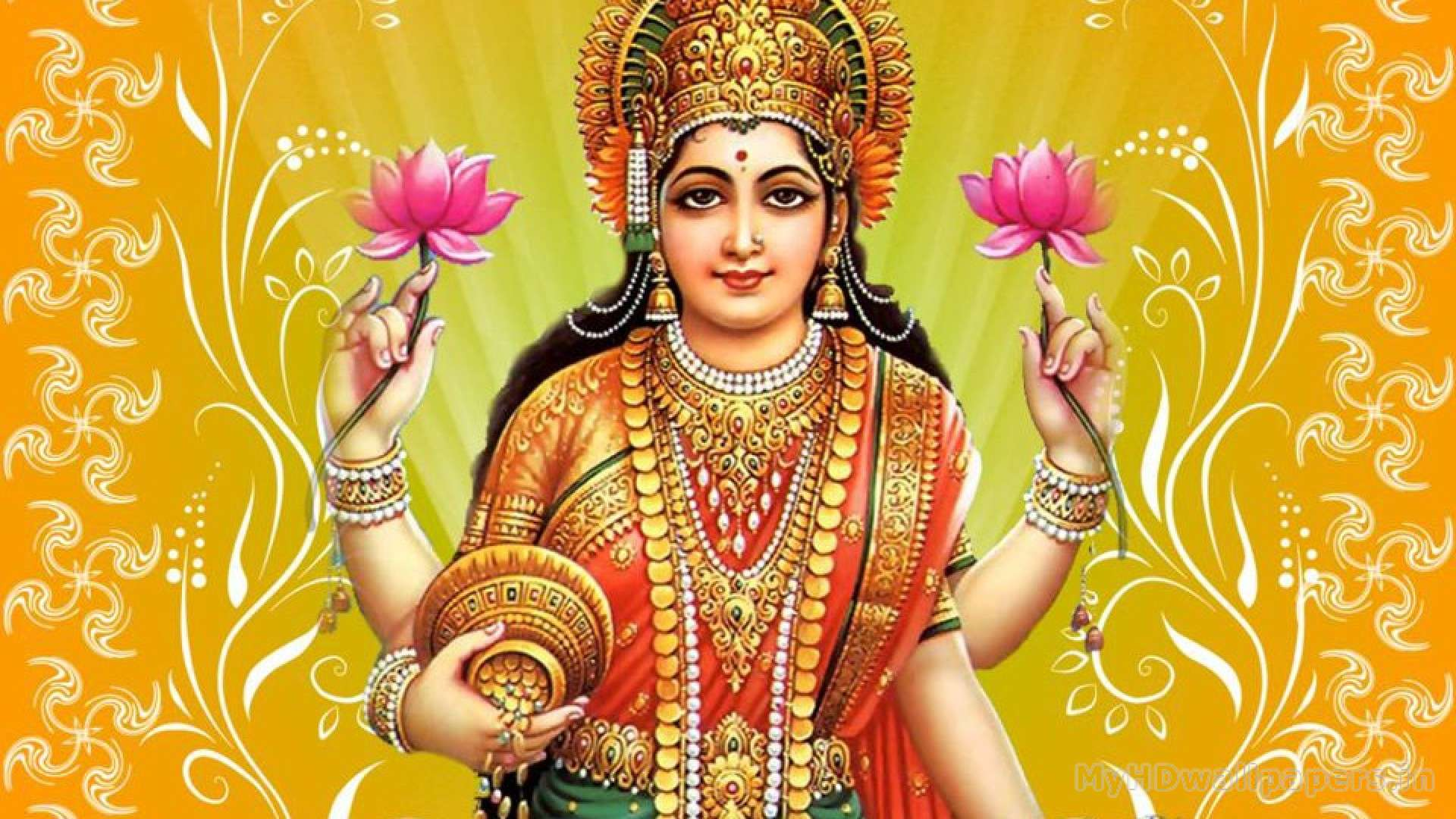 god lakshmi wallpaper desktop background in hd widescreen resolution 1920x1080