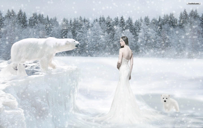 HD Free Wallpaper Winter Scene