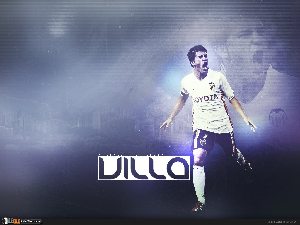 Download David Villa Villa David Wallpapers Valencia 1024x768