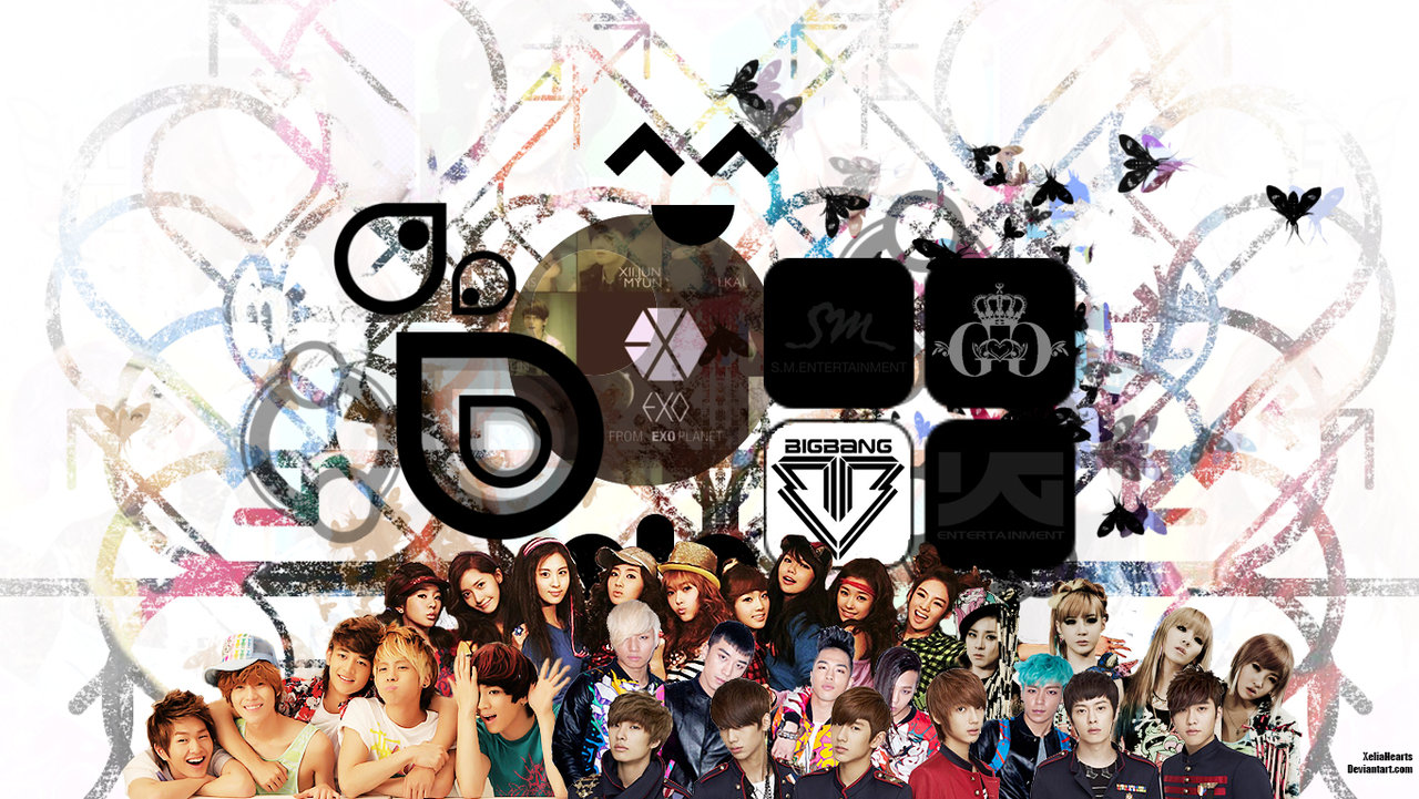 kpop wallpaper by xeliahearts fan art wallpaper other 2013 2015 1280x721