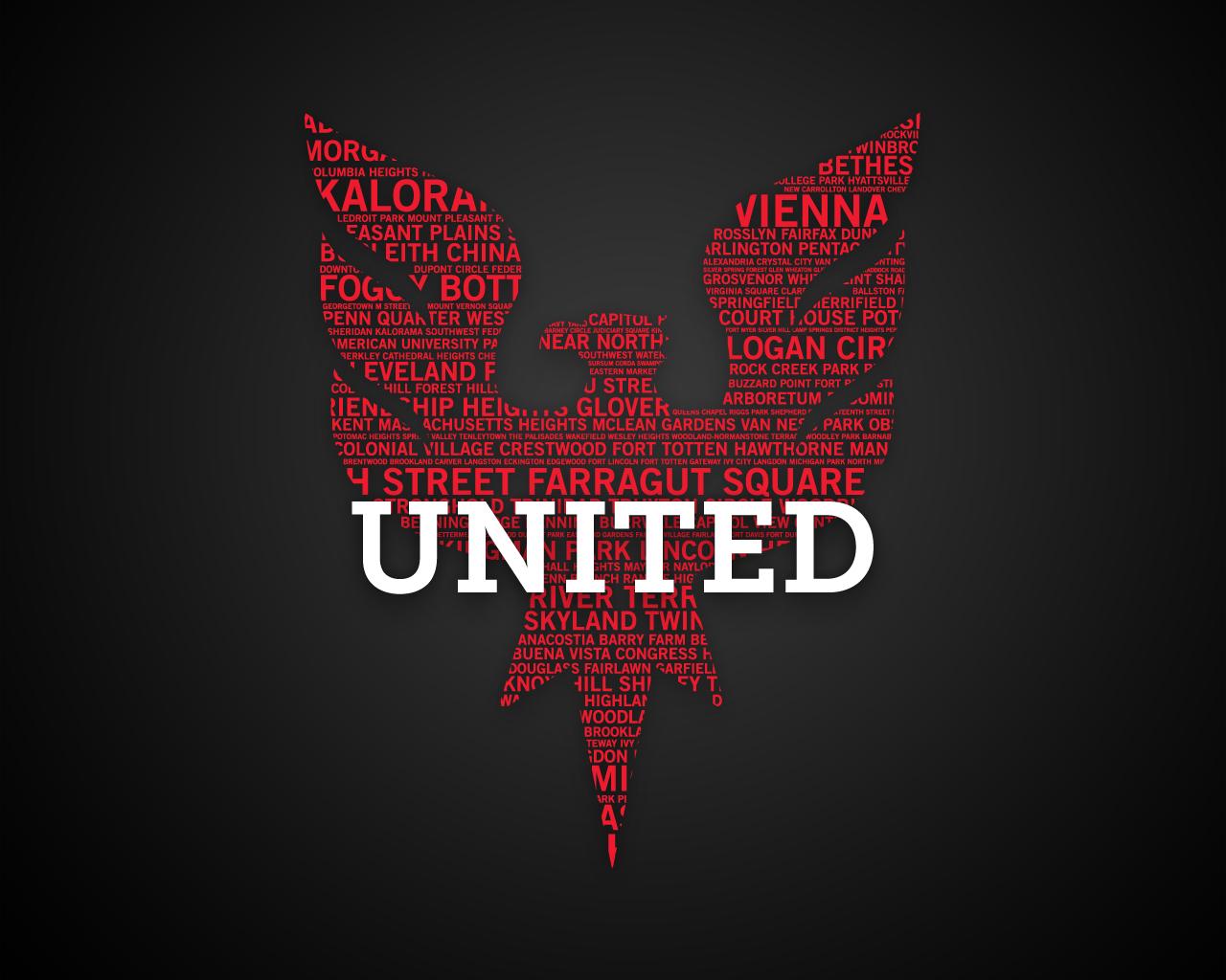 DC United Football Wallpaper 1280x1024