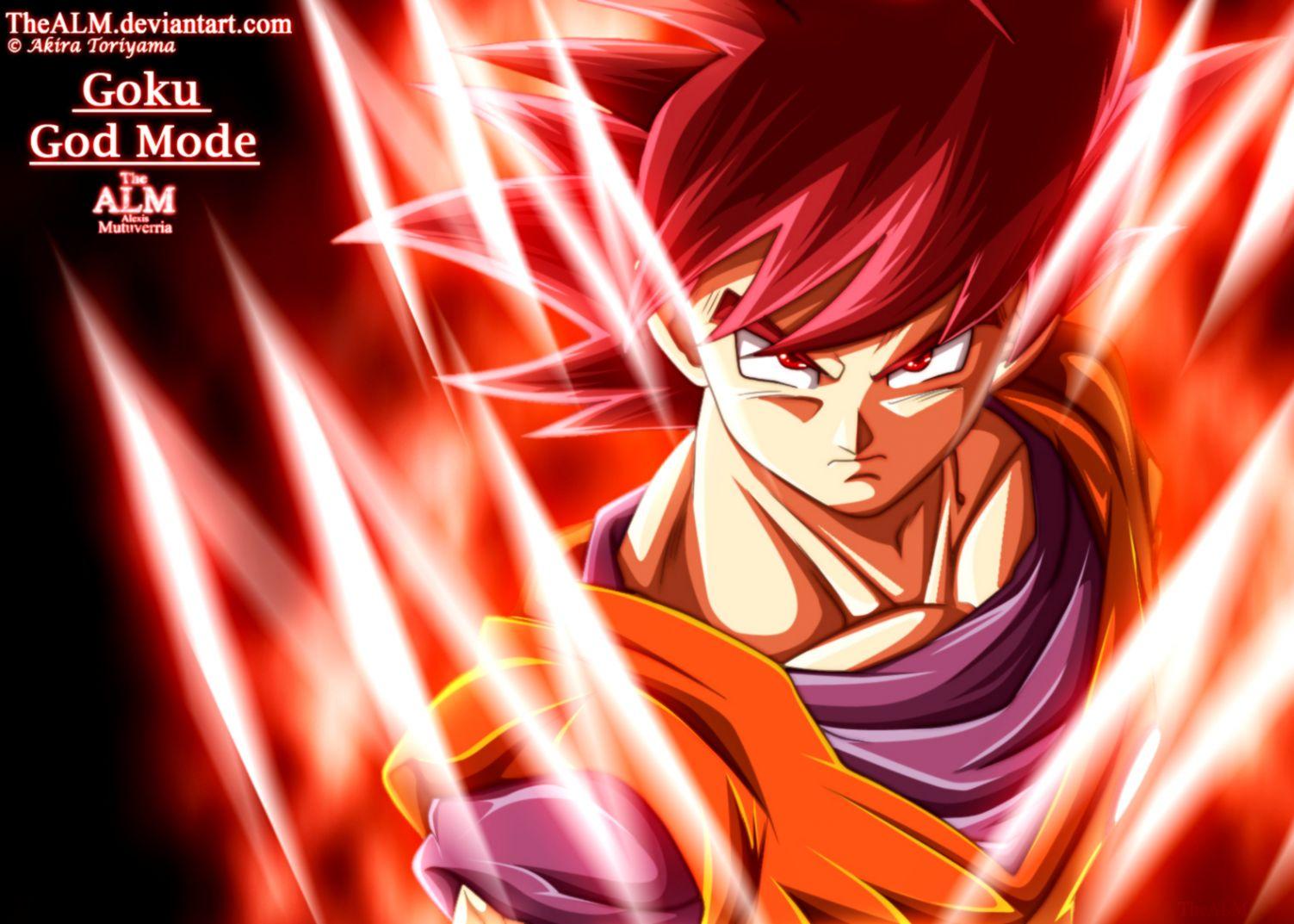 Free Download Dragon Ball Z Super Saiyan God Goku Wallpaper