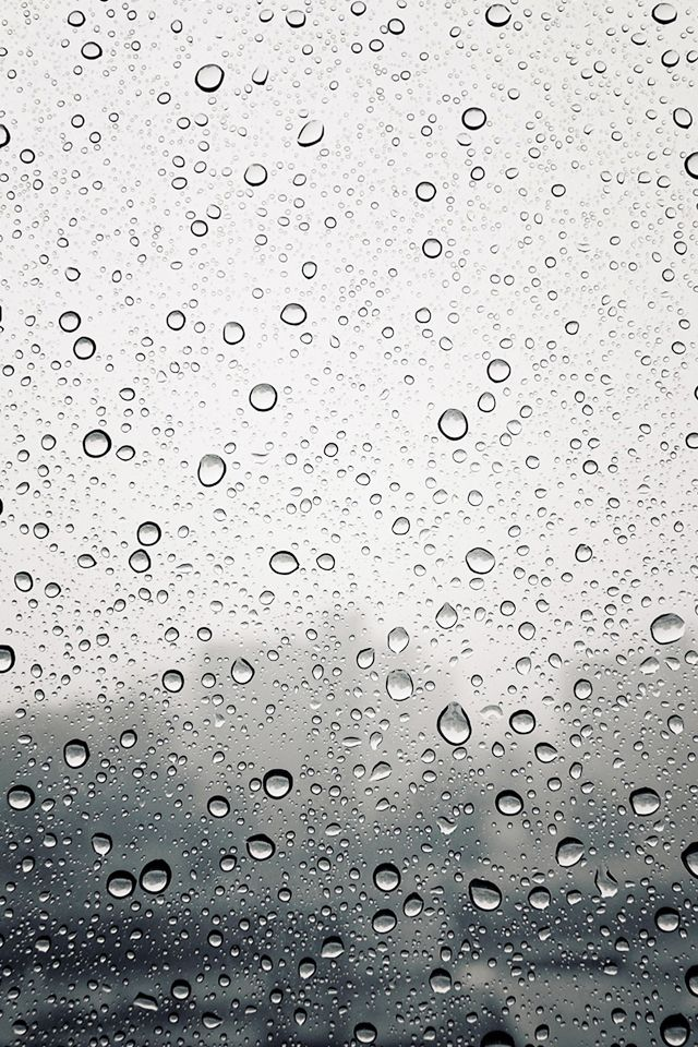 wallpaper iphone Rain drops Wallpapers in 2019 Rainy 640x960