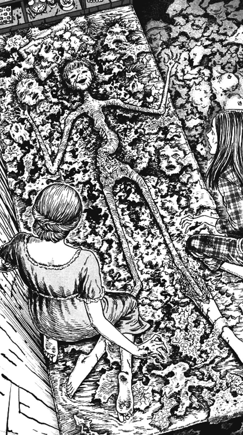 junji ito wallpaper Tumblr 792x1419