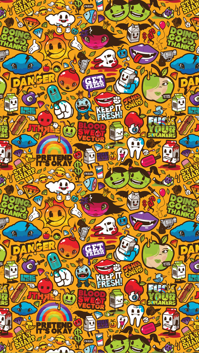 Free Download Iphone 5 Wallpaper Fun Art 640x1136 For Your