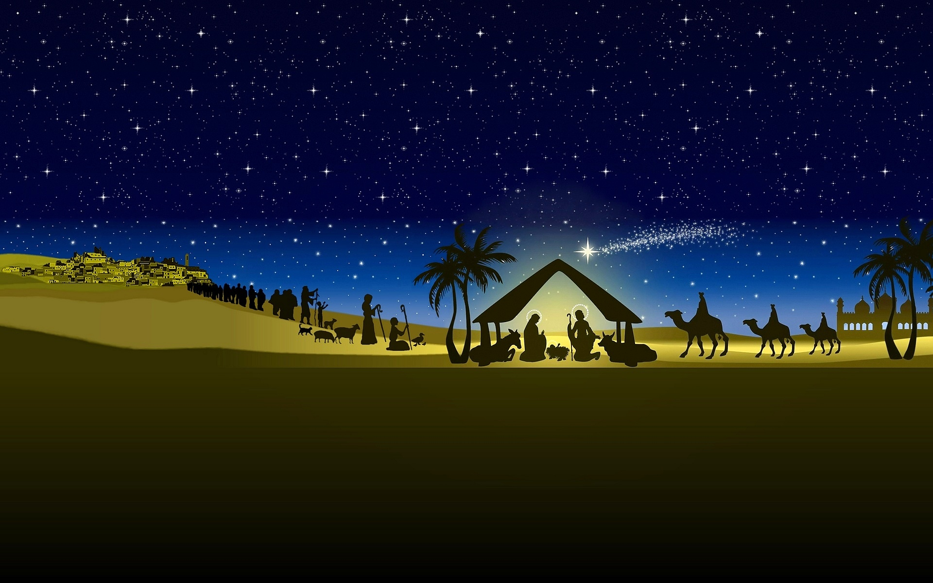 Pics Photos   Nativity Wallpaper Wallpaper The Nativity 1920x1200