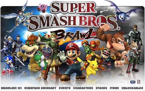Super Smash Bros Brawl Wallpaper  WallpaperSafari