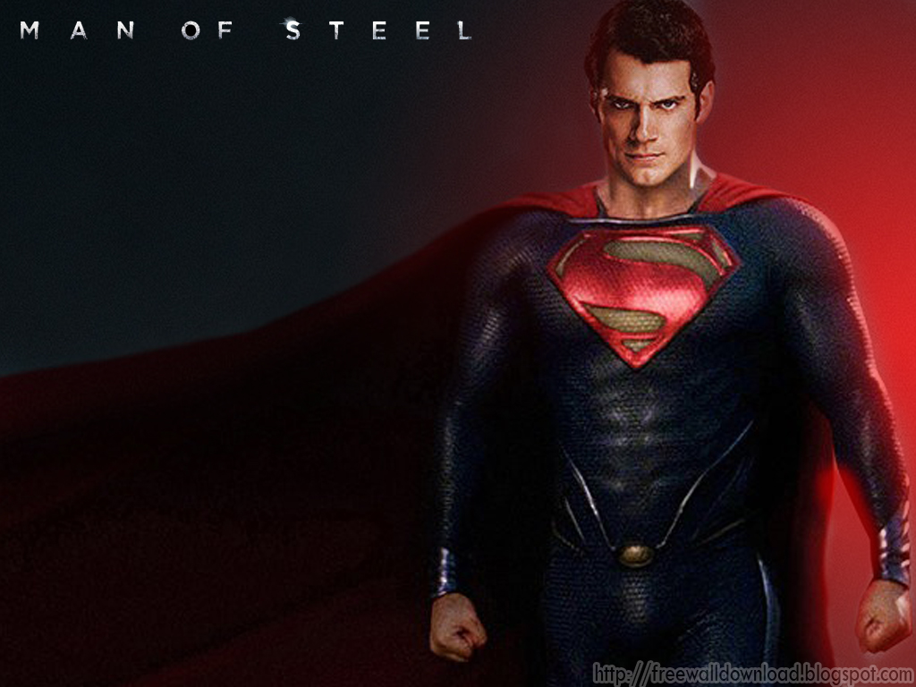 free wallpapers superman man of steel 1 wallpapers superman man 1024x768