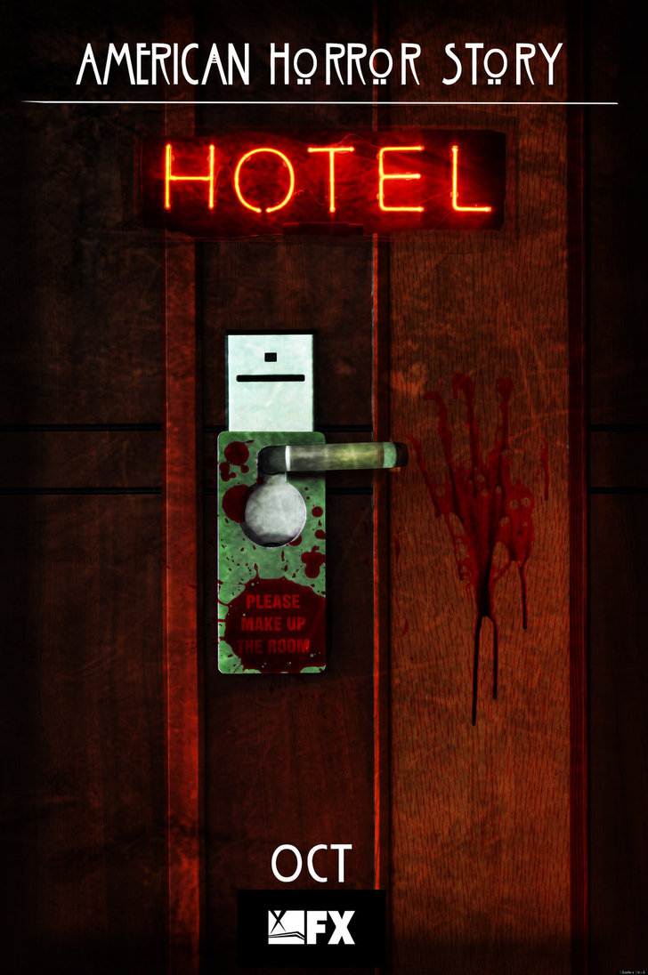 American Horror Story Hotel No2 Door by morrallshortie on 728x1096