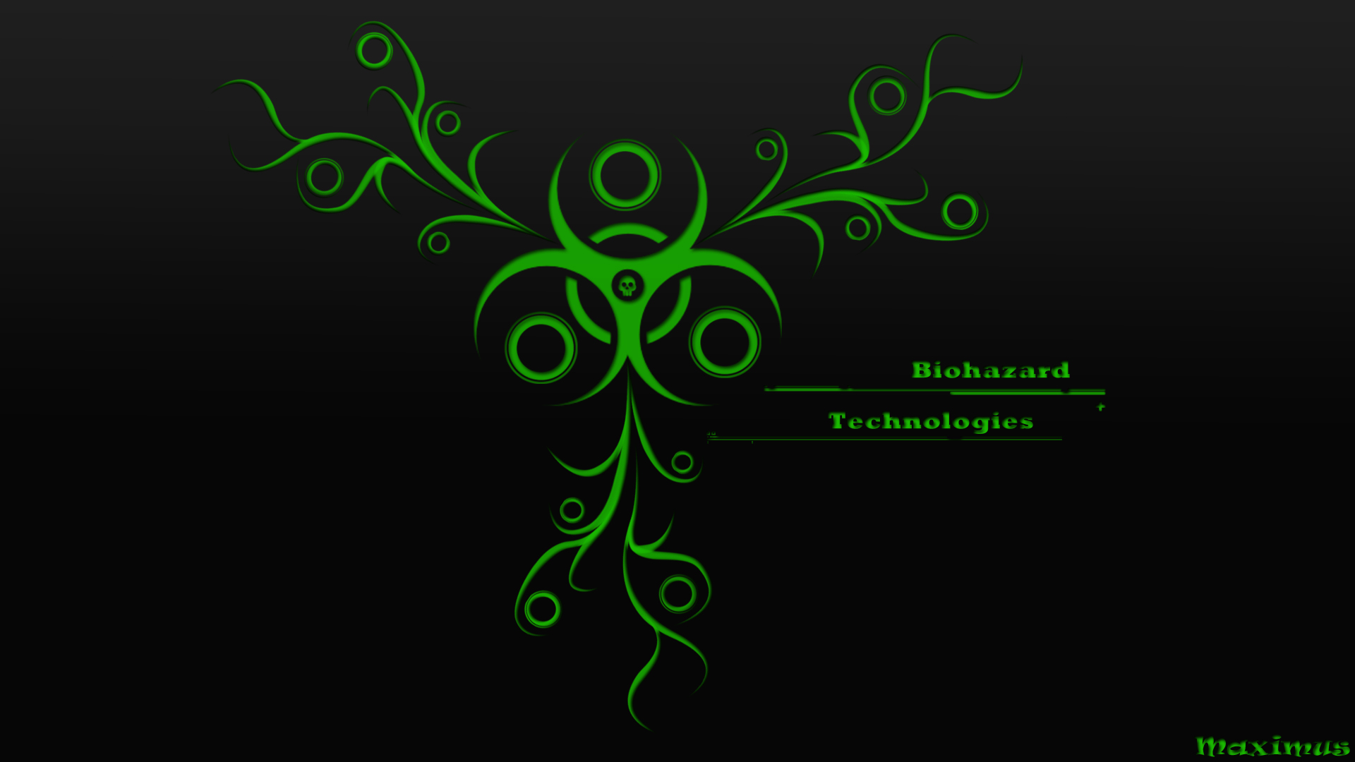 wallpaper background biohazard abstract wallpapers artistic 1920x1080