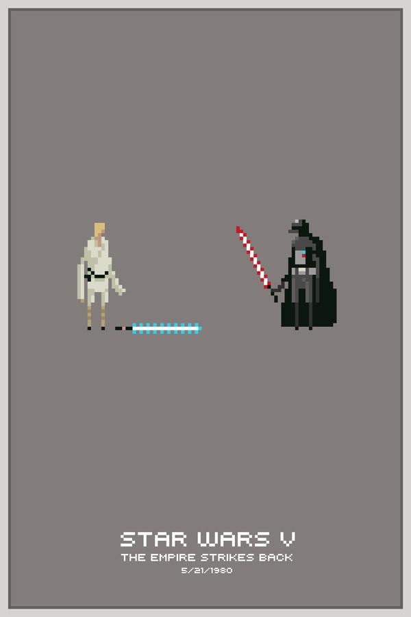 Free Download Pixel Art For Design Inspiration Star Wars