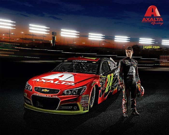 Silly Season Site   2013 NASCAR Sprint Cup Series 24 Paint Schemes 700x559