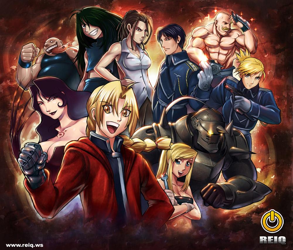 50+ Fullmetal Alchemist Brotherhood Wallpaper HD on ...