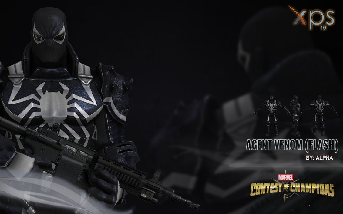 Contest of Champions   Agent Venom by XNASyndicate 1131x707