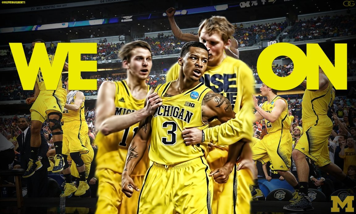 WE ON Trey Burke Michigan Wolverines Wallpaper by Hecziaa on 1153x692