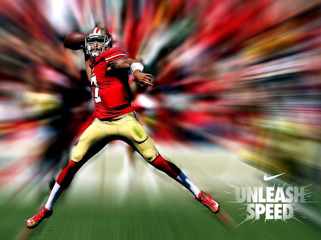 Sick pic Colin Kaepernick   49ers Football Pinterest 1024x765