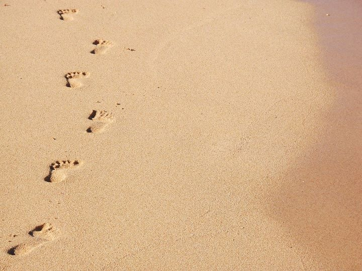 Footprints The Sand Poem 720x540
