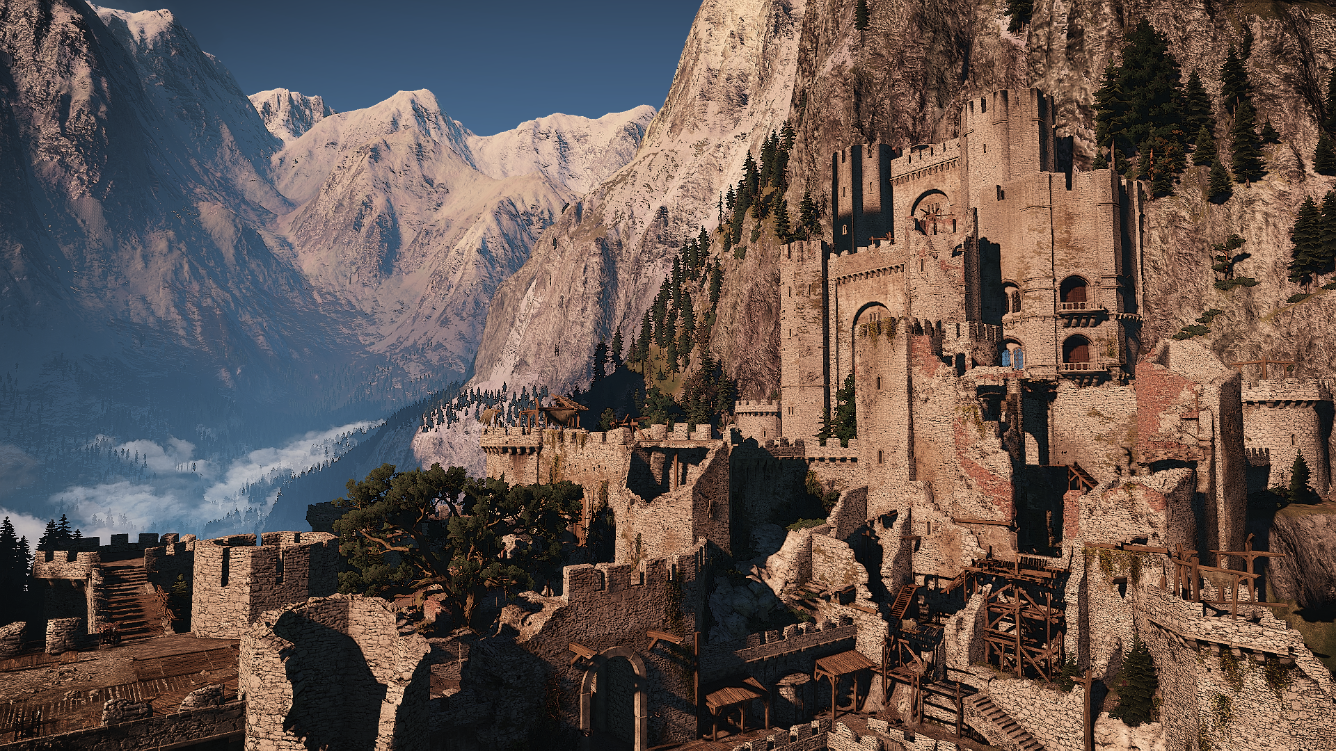 11609 Kaer Morhen images and pictures 2019 1920x1080
