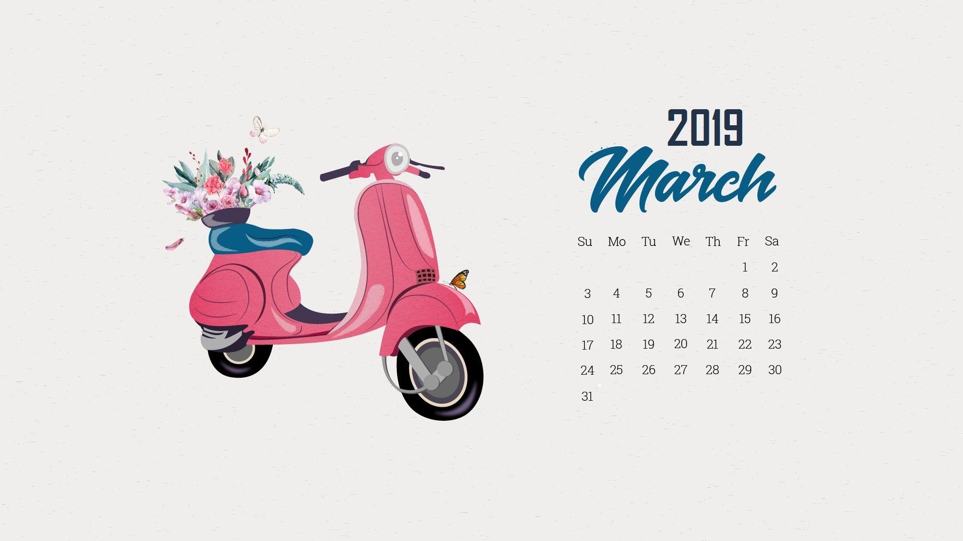 march 2019 calendar wallpapers calendar 2019march 2019 iphone 1920x1080