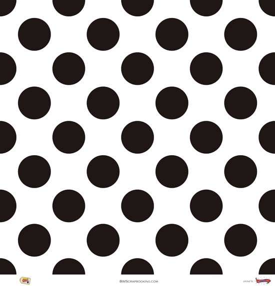 Black and white polka dot pattern - photo#24