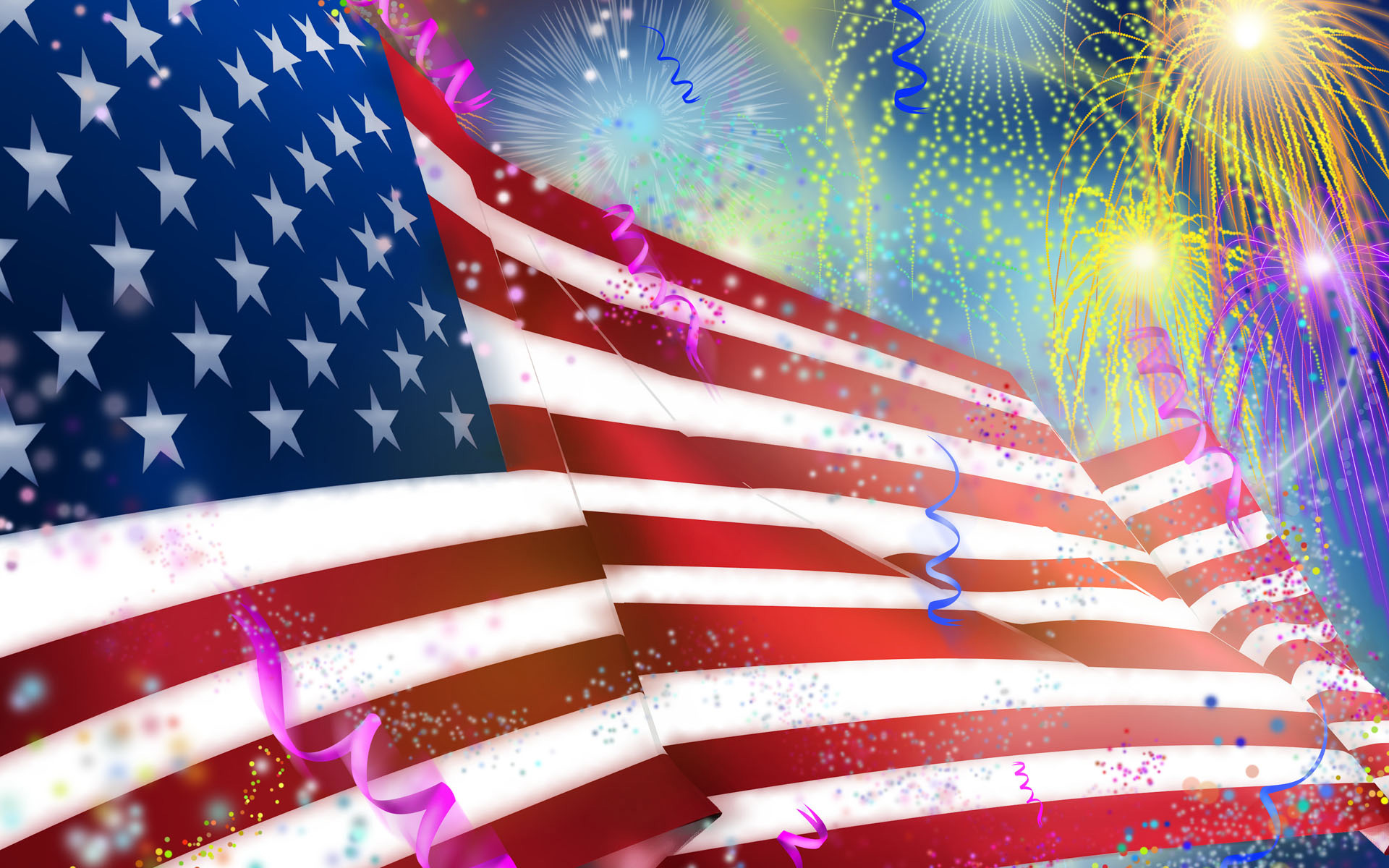 American Independence Day Wallpaper 1920x1200