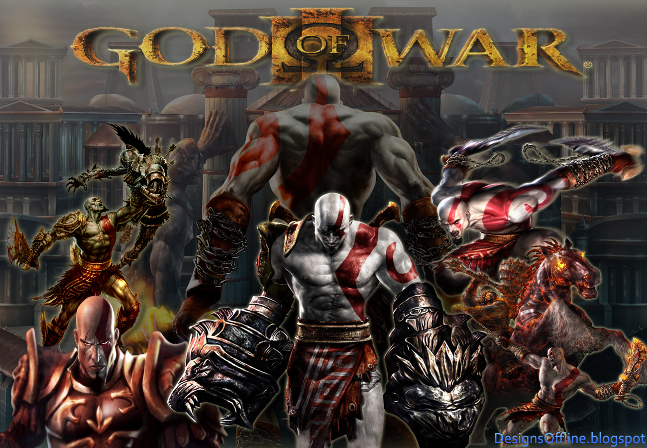 Free Download Designs Offline Wallpaper God Of War Kratos