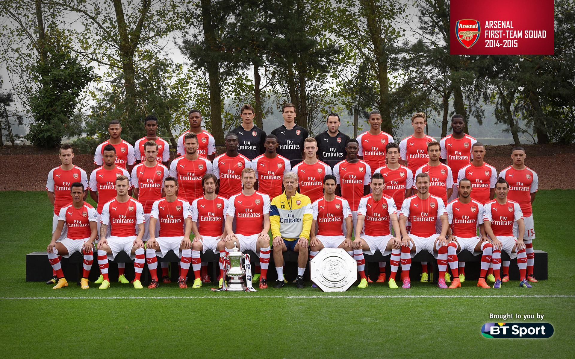 2014 aston villa 0 3 arsenal sep 22 2014 first team squad 2014 2015 1920x1200