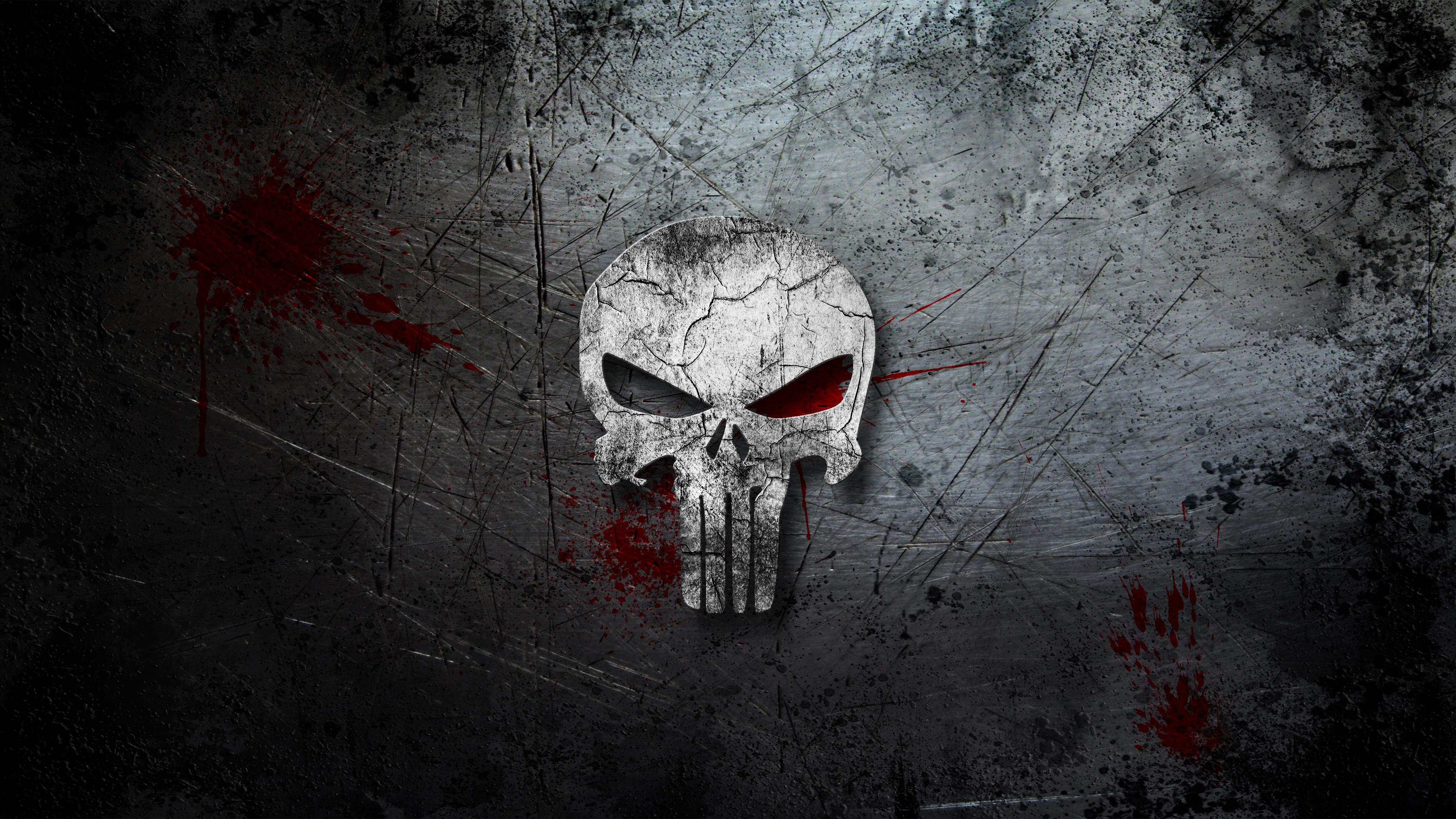 The Punisher Computer Wallpapers Desktop Backgrounds 3840x2160