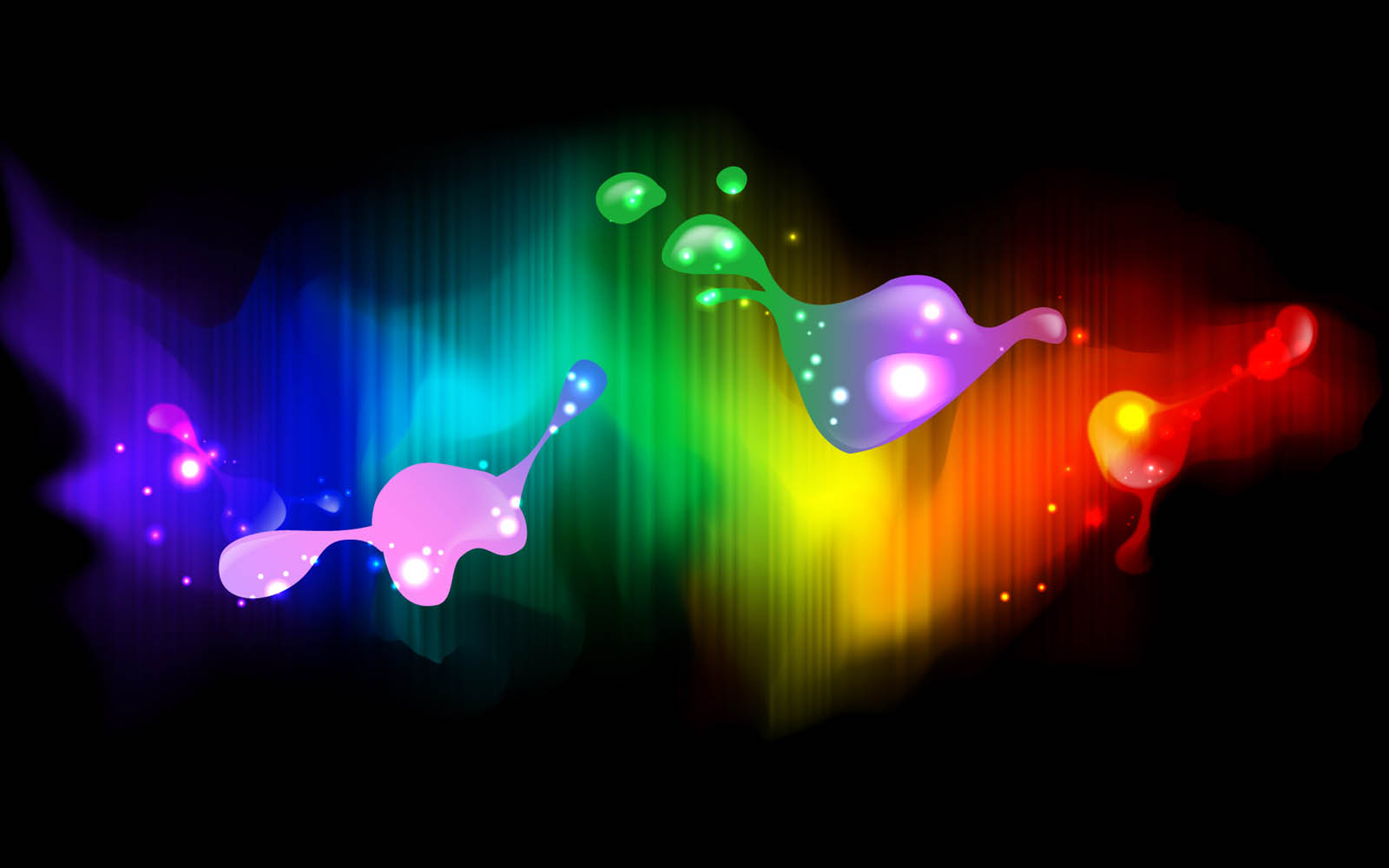 wallpapers Neon Art Wallpapers 1600x1000