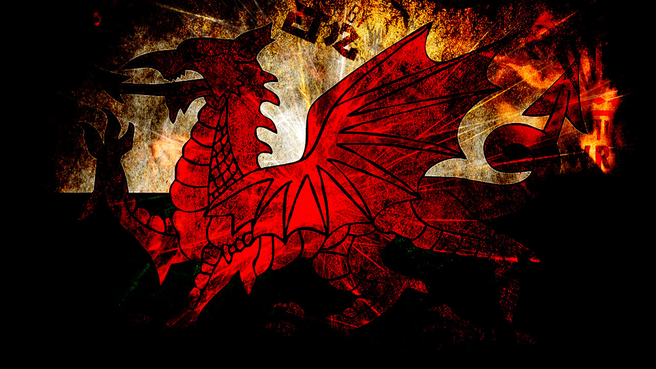 Welsh Flag Wallpaper on Picterest 1280x720