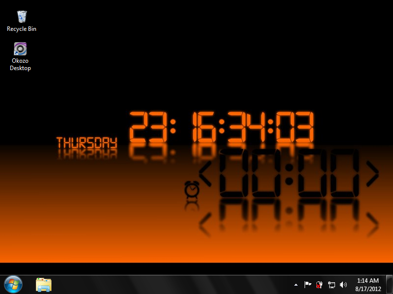Freeware Download Countdown Clock Wallpaper 800x600