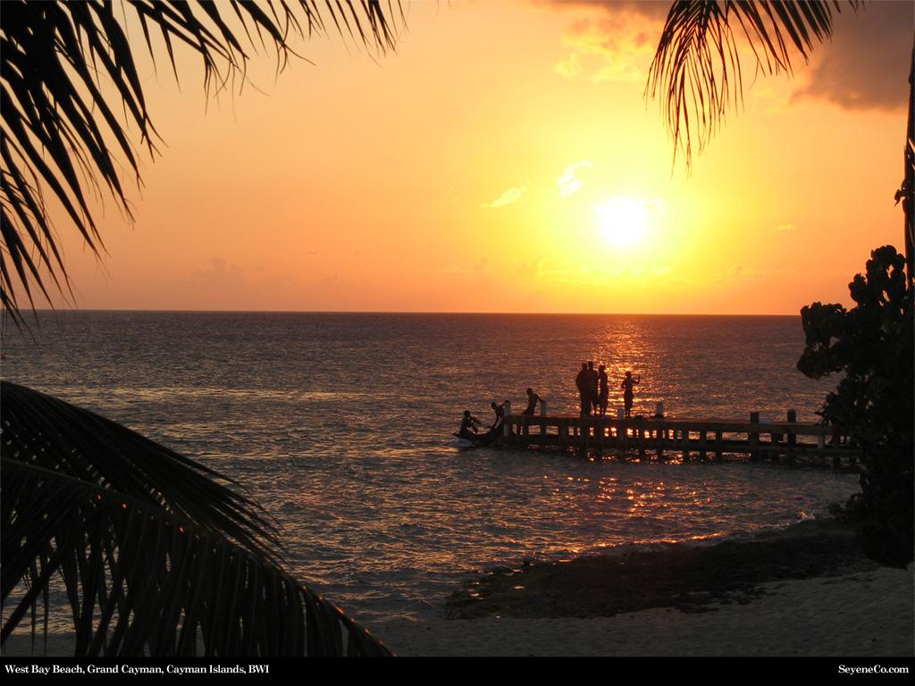 West Bay Beach Grand Cayman Cayman Islands Desktop Wallpaper 1024x768