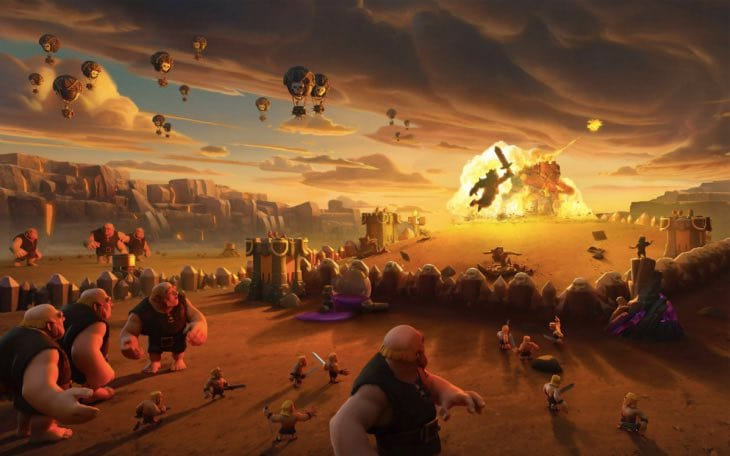 Clash of Clans wallpapers for iPhone iPad from Supercell 730x456