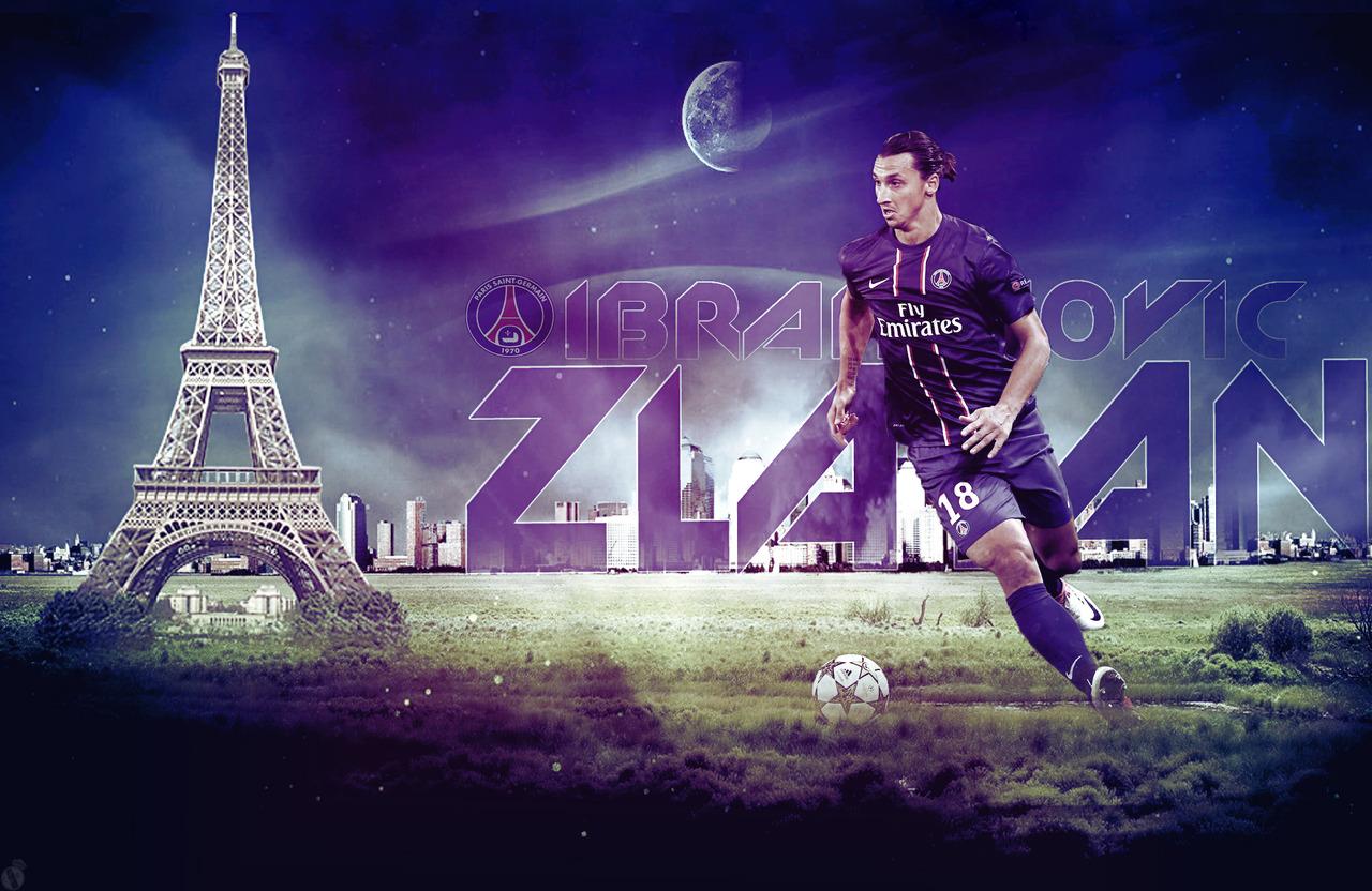 Zlatan Ibrahimovic 2013 Wallpapers HD PSG 1280x832