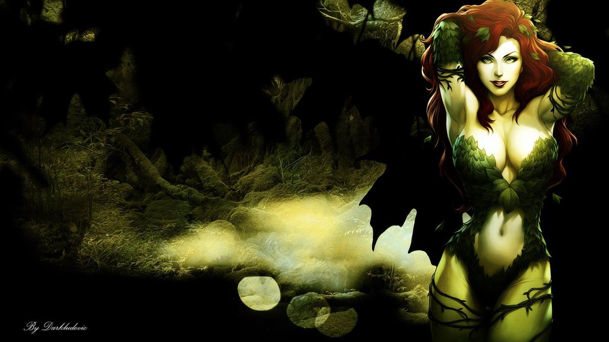 Poison Ivy   Wallpaper by darkludovic 1191x670