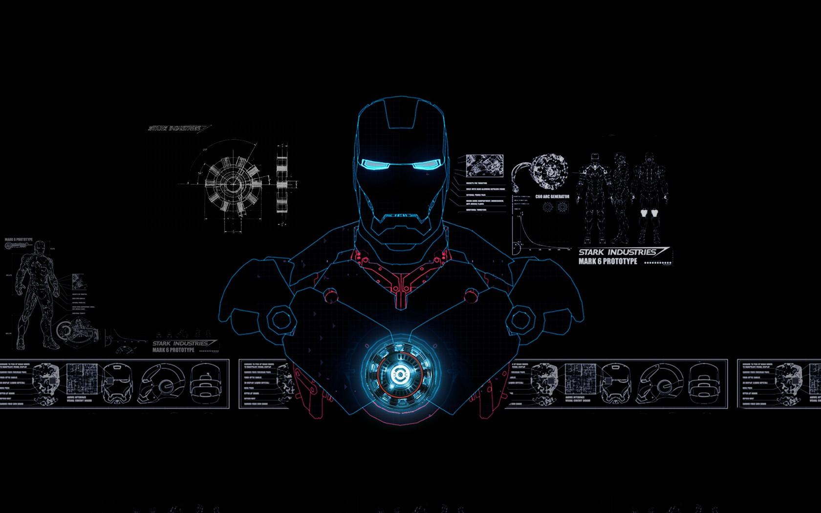 Iron Man Jarvis Wallpaper Hd Jarvis wallpap 1680x1050