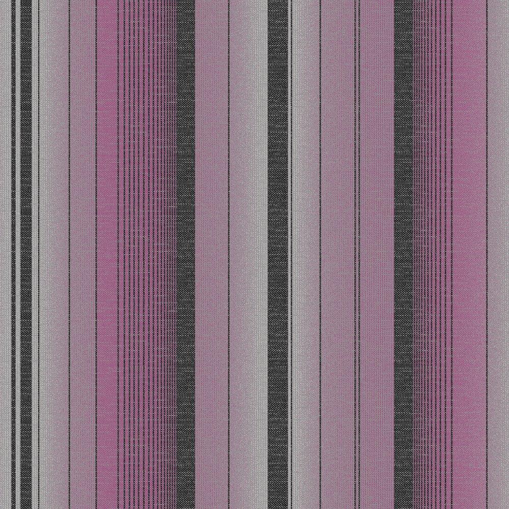 Washable Colour Purple Silver Design Style Striped Wallpaper 1000x1000