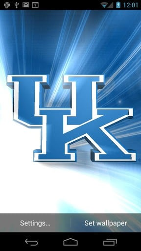 Kentucky Wildcats LWPs Tone App for Android 288x512