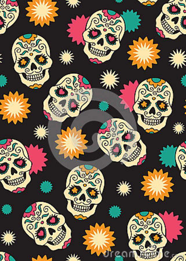 sugar skulls wallpaper wwwimgkidcom the image kid