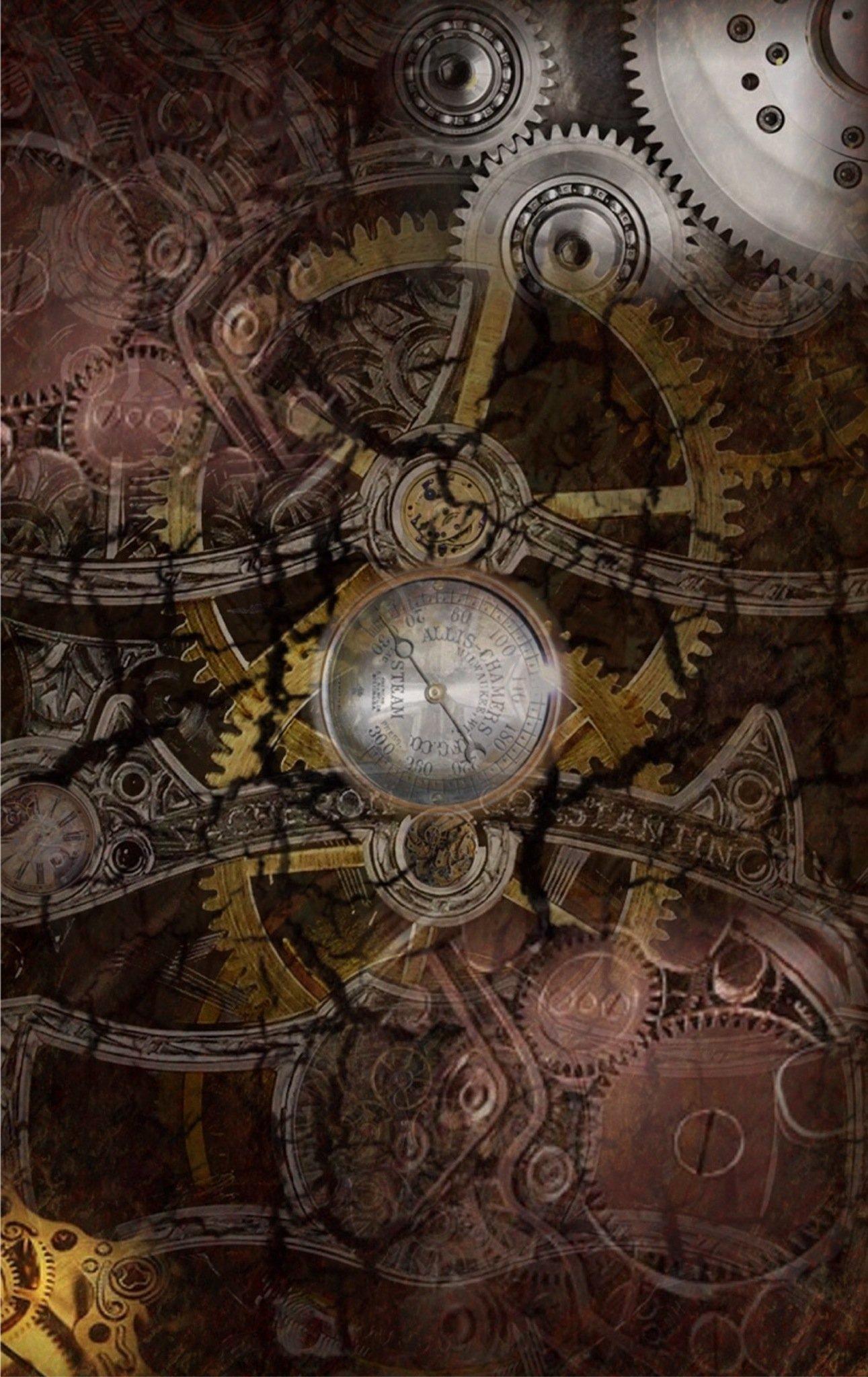 steampunk map wallpaper - photo #34