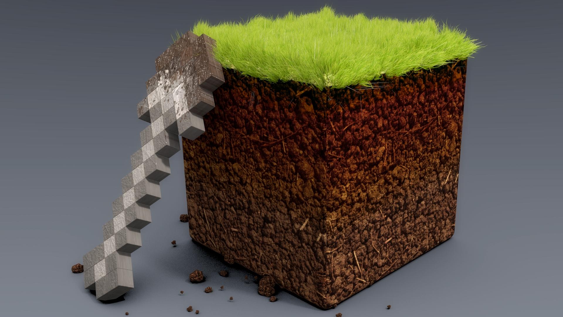 Realistic Minecraft Game HD Wallpaper 4742 HD Wallpaper 3D 1920x1080