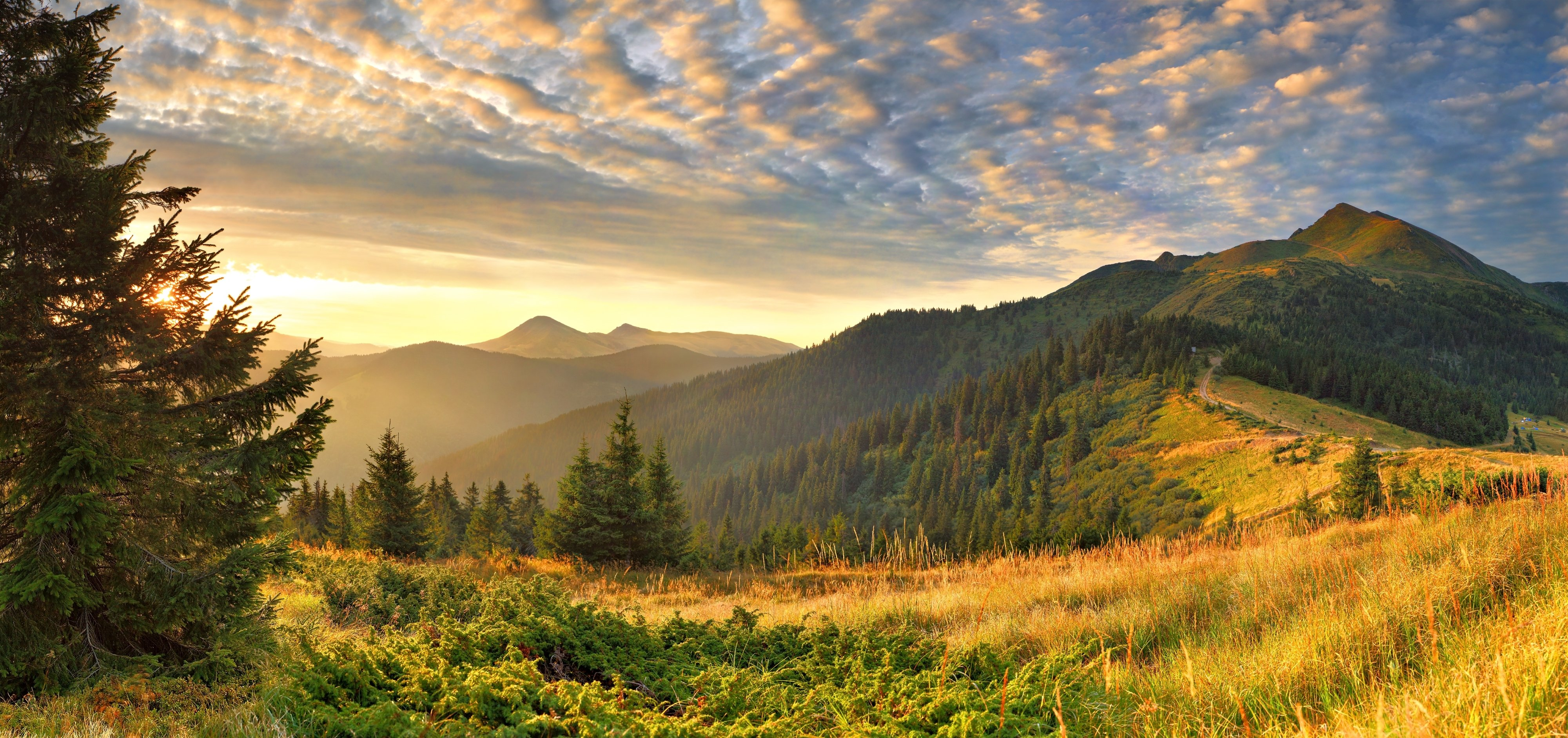 Free Download Landscape Wallpaper Background 4000x1882 For Your
