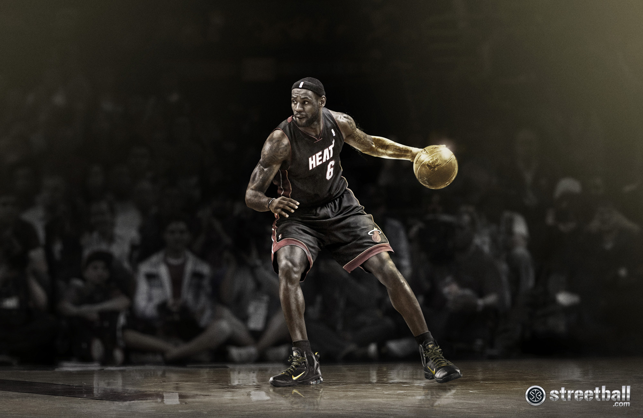 LeBron James Miami Heat LeBron 9 Post Season Wallpaper 2012 1280x832