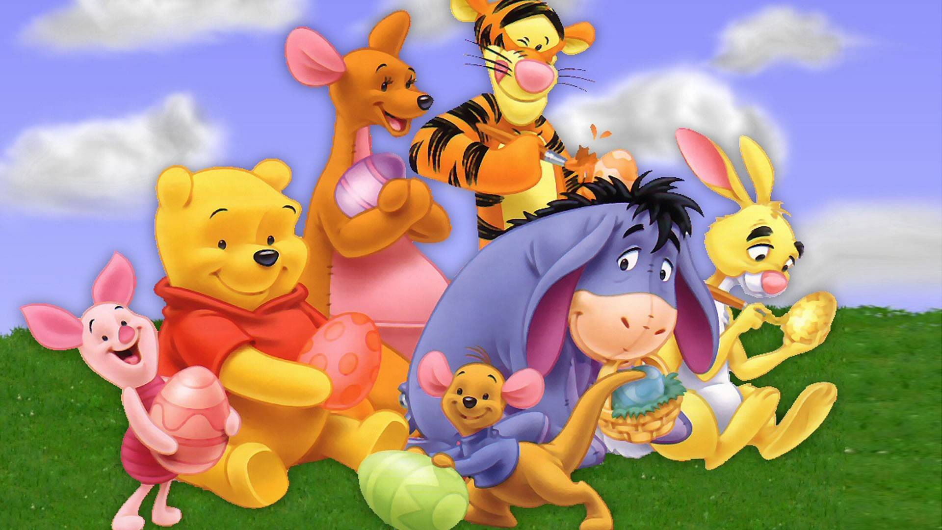 Baby Pooh Bear And Friends Galleryhipcom The 1920x1080