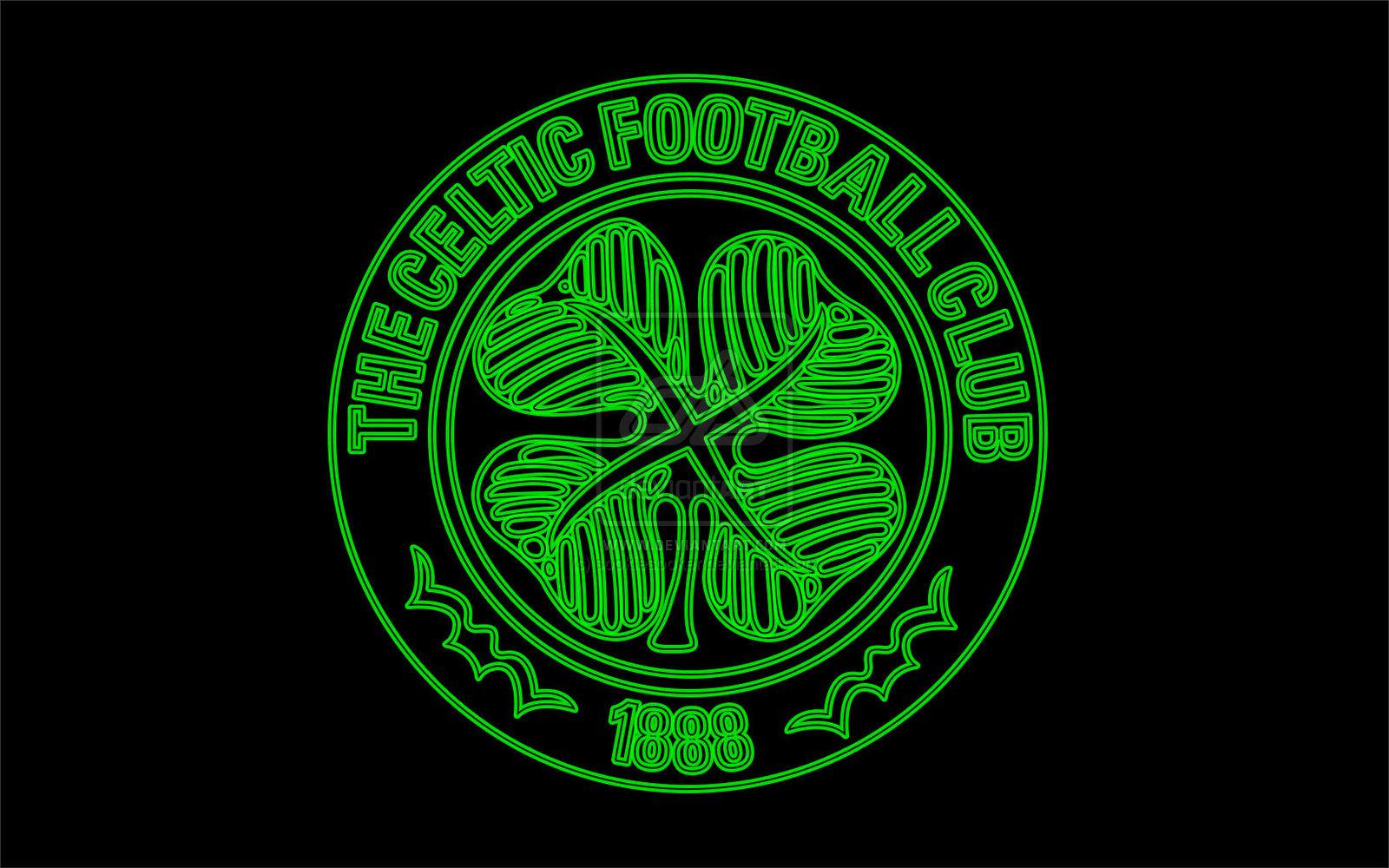 Celtic FC Neon Glow by Sookie by sookiesooker 1600x1000